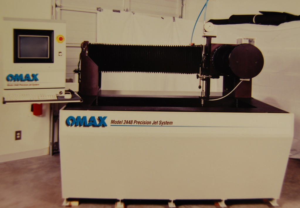 Early OMAX 2448 JetMachining Center